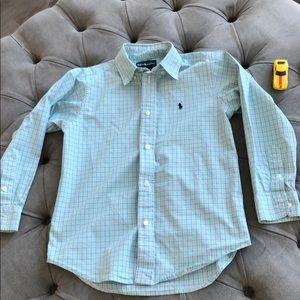 Ralph Lauren button down shirt size 7